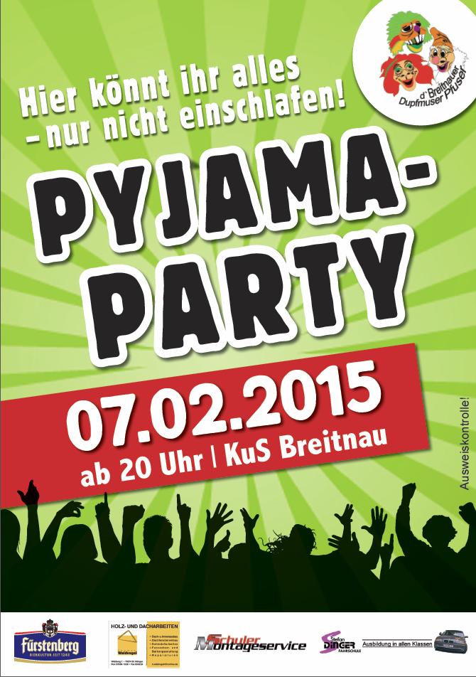 Pfuser Pyama Party 2015